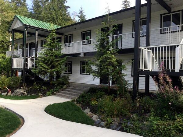 West Coast Trail Lodge, Wild Renfrew, Port Renfrew, Vancouver Island, BC Canada