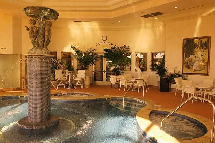 Peppermill Spa Toscana indoor pool