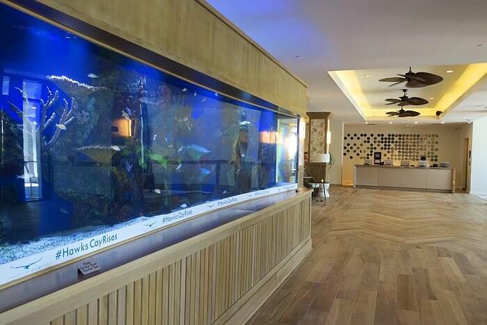 Lobby Aquarium Hawks Cay Resort