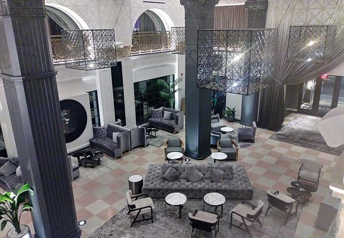 Mayfair Hotel Downtown Los Angeles lobby