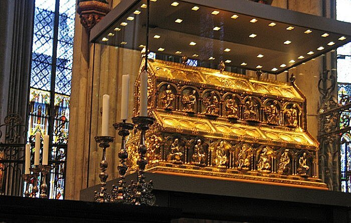 Three Kings Reliquary, Cologne Cathedral, Germany
