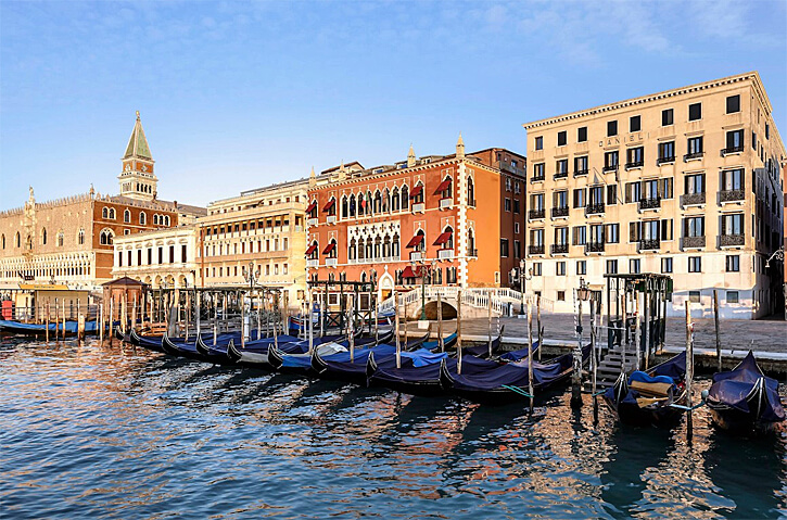 Hotel Danieli, Venice, Italy (Photo courtesy of Hotel Danieli)