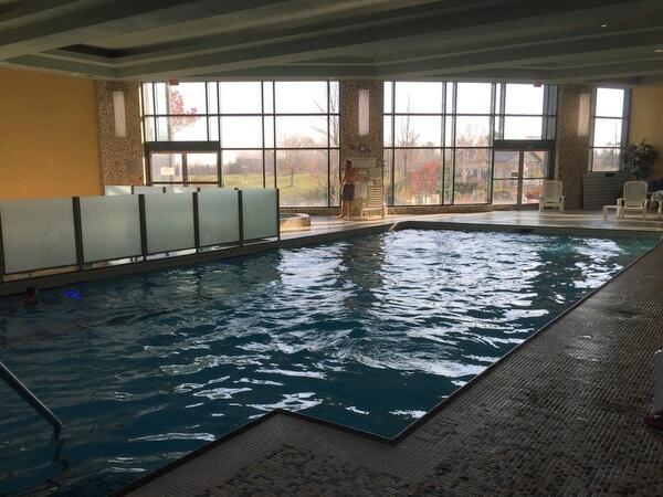 Pool, Brookstreet Hotel, Ottawa, Ontario, Canada