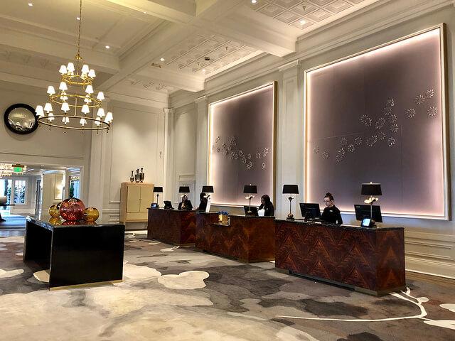 claremont club & spa fairmont hotel, clairmont fairmont hotel lobby, claremont hotel renovation