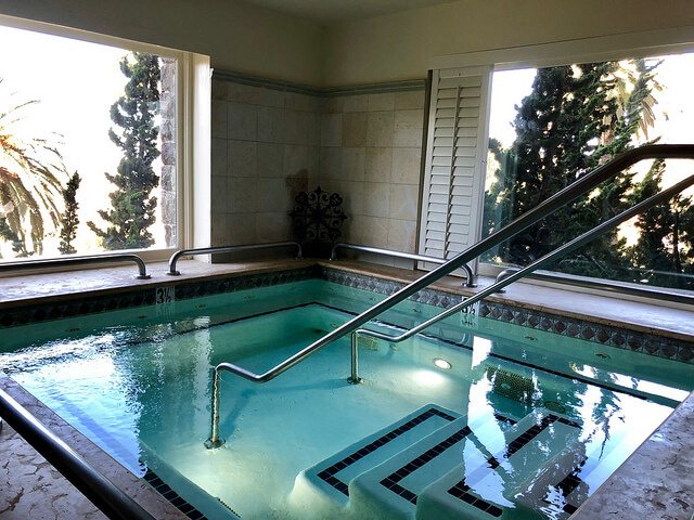claremont club & spa, fairmont hotel jacuzzi, east bay hotel spa