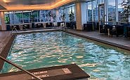 swimming pool at Embassy Suites Pioneer Square Seattle