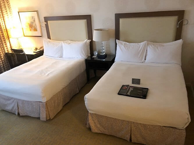 double room at fairmont sjc