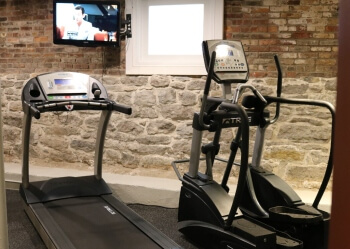 exercise room of The Barlow in Hudson, NY