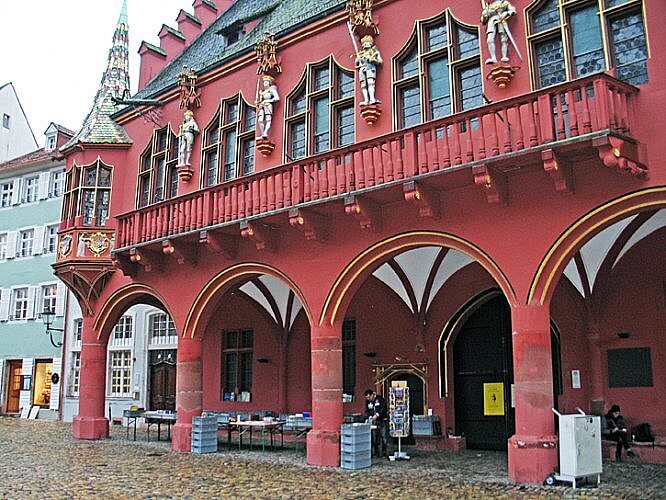 Medieval Merchants Hall, Freiburg, Germany