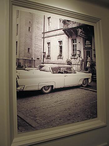 Vintage Photo, Hotel Victoria, Freiburg, Germany