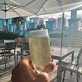 drinks by pool miami hilton downtown