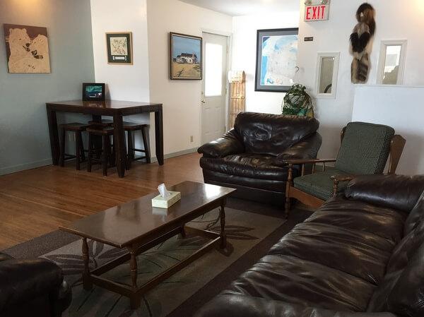 Lobby, Tundra Inn, Churchill, Manitoba Canada