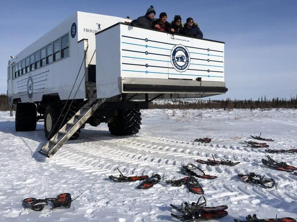 Tundra buggy, Churchill, Manitoba Canada
