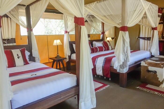 Mara Bush Camp – Private Wing: An Oasis of Intimate Luxury in the Masai Mara