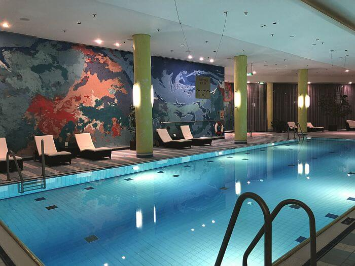 ondoor pool at Hilton Munich Airport Executive Room