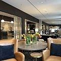 Sitting area and lobby, Hilton Munich City