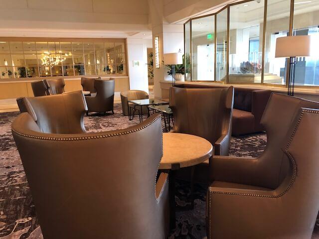 lobby at hilton lax
