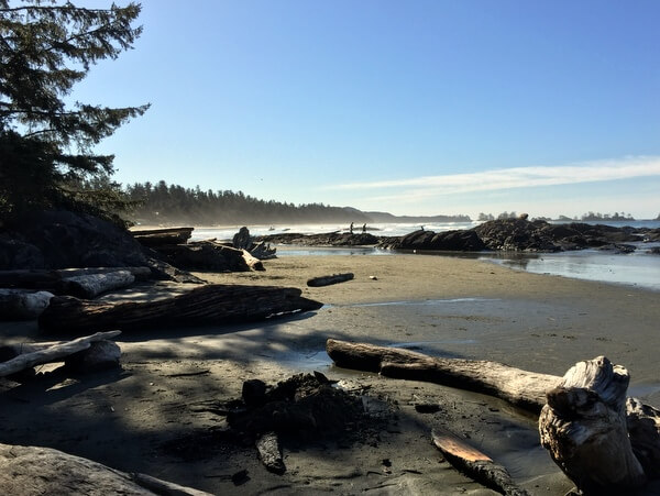 Chesterman Beach, Wickaninnish Inn, Tofino BC Canada