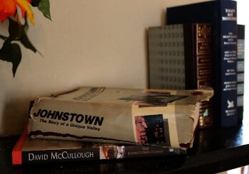 books to read at Heritage House Inn B&B in historic Johnstown of 1889 Flood