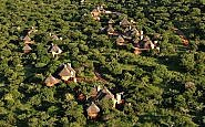 Aerial photo of Thanda Safari Lodge