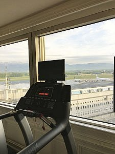 Sky Gym at Movenpick Geneva
