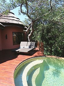 Suite with Plunge pool at Thanda Safari Lodge