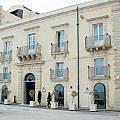 Exterior, Hotel Algila, Siracusa, Sicily (Photo by Susan McKee)