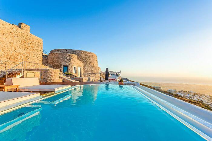Greek villa for rent Santorini