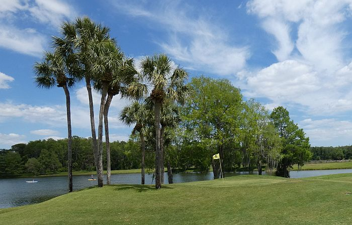 Hyatt Orlando Grand Cypress lagoon and golf