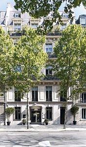 Le Narcisse Blanc Hotel facade@guillaumedelaubier