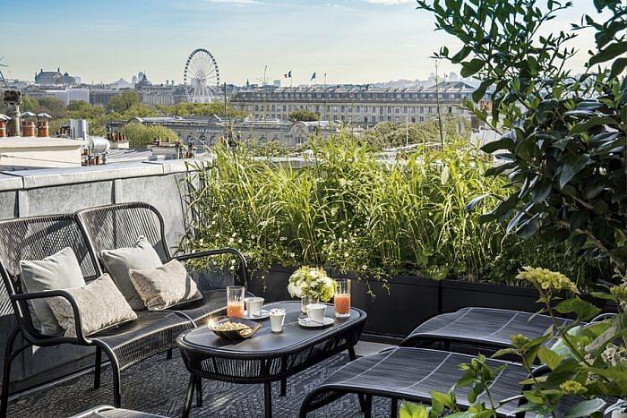 Hotel Narcisse Blanc Room 501 Terrace @guillaumedelaubier