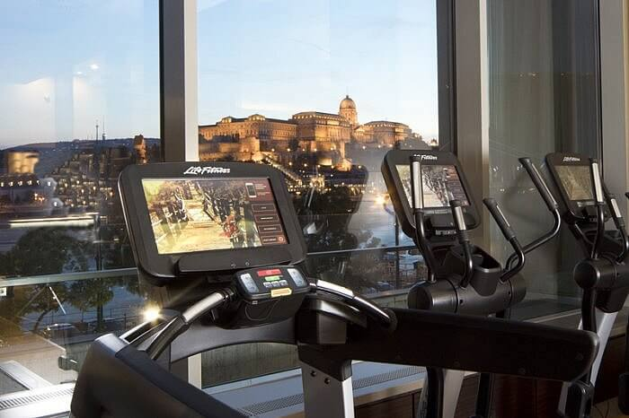 Budapest Marriott Fitness Center