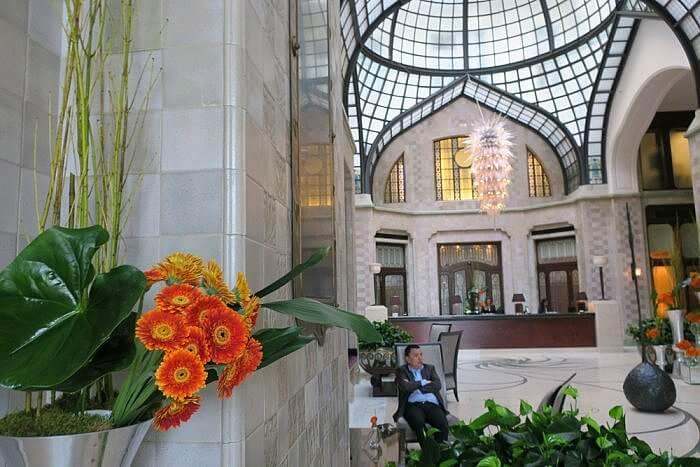 Lobby Four Seasons Hotel Gresham Palace Budapest