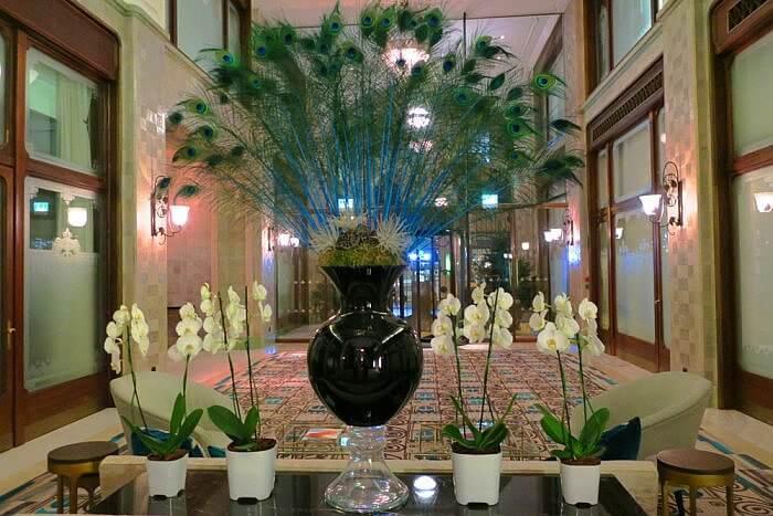 Peacock Lobby Lounge