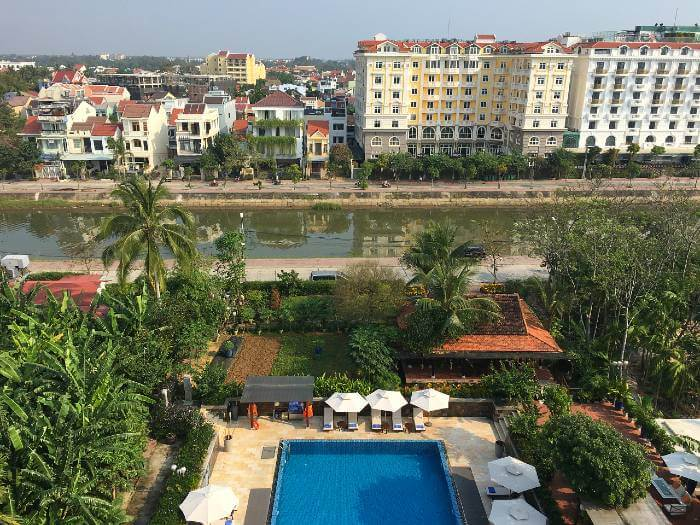 Waterfront Luxury at the Hoi An River Town Hotel in Vietnam