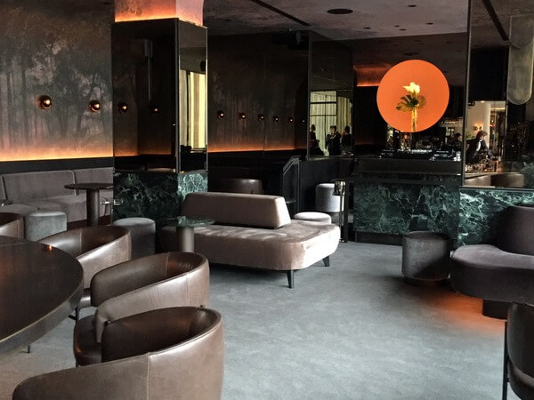 Lounge, Four Seasons Hotel Montreal, Quebec Canada