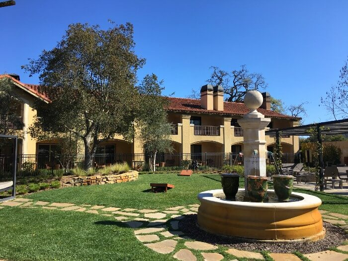 Tuscan Style in California at the Napa Valley Lodge