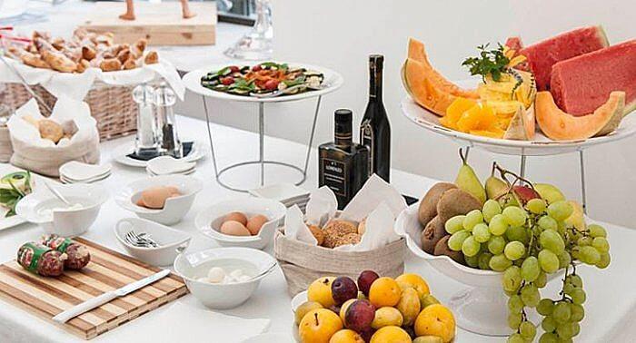 Breakfast buffet, Palazzo Brunaccini Hotel, Palermo, Sicily, Italy (Photo courtesy of Palazzo Brunaccini Hotel)