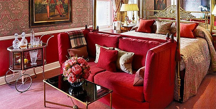 Victoria and Albert Suite, Egerton House Hotel, London, England