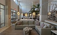 Lobby at the Embassy Suites Saint Augustine Beach