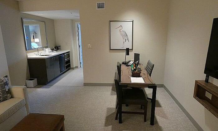 Suite at St. Augustine beach resort