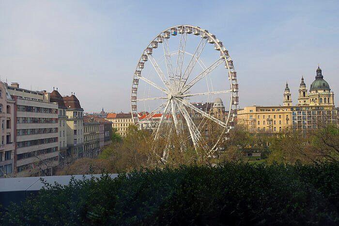 Ferris Wheel View, Kempinski Corvinus Budapest