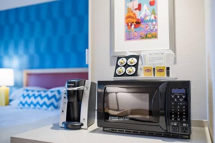 Coffee maker microwave HOJO Anaheim