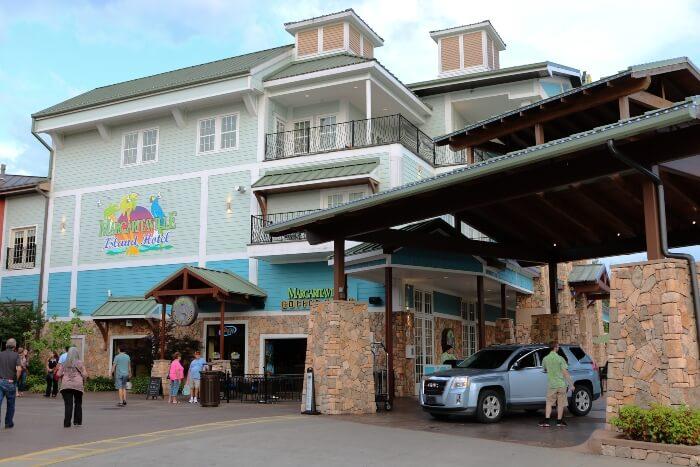 Margaritaville Island Hotel outside
