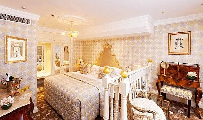 Stanhope Suite - Chesterfield Hotel, London, England