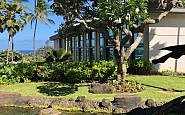 exterior shot of Hilton Garden Inn on Kauai
