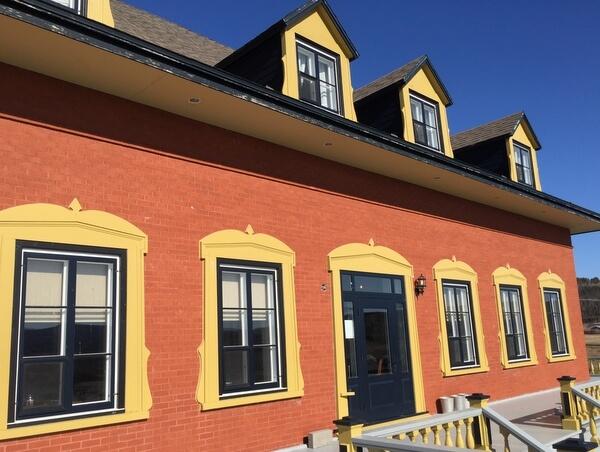 Auberge Chateau Lamontagne, Sainte-Anne-des-Monts, Gaspé, Quebec Canada