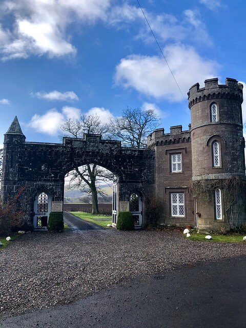 monzie estate, monzie castle, csottish castle, scottish highlands