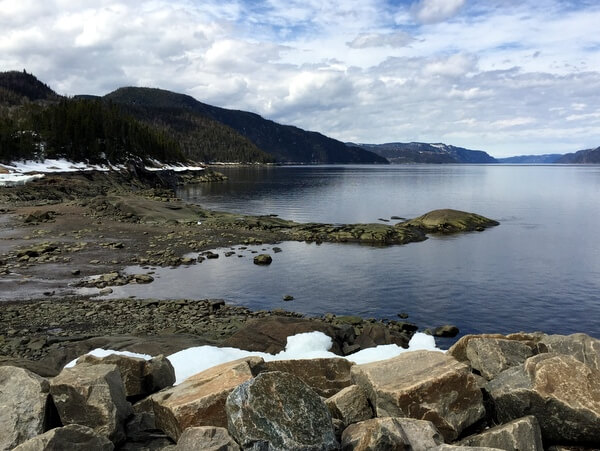 Saguenay Fjord, Quebec Canada