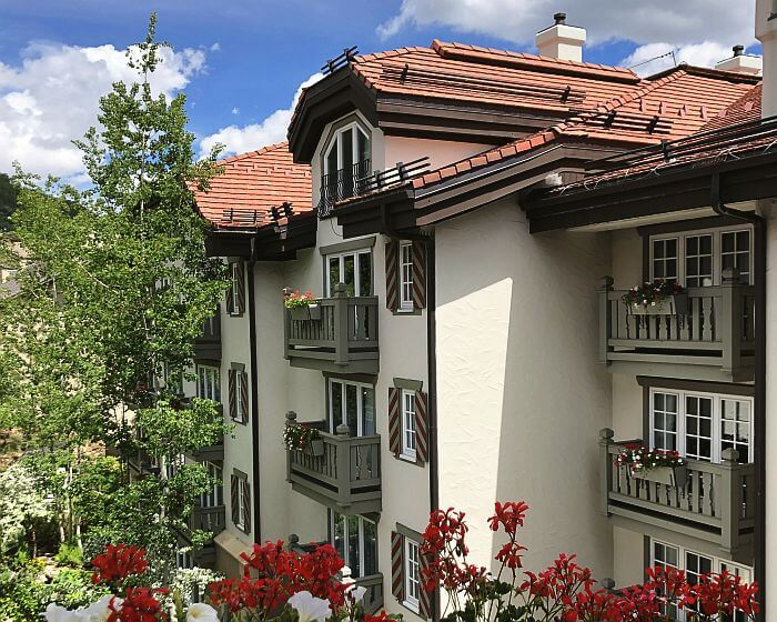 Mountain Life with European Charm at Vail's Sonnenalp Hotel